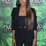 London, England, UK. 10th January 2018. Alexandra Burke arrives at Cirque du Soleil OVO - UK premiere at Royal Albert Hall.