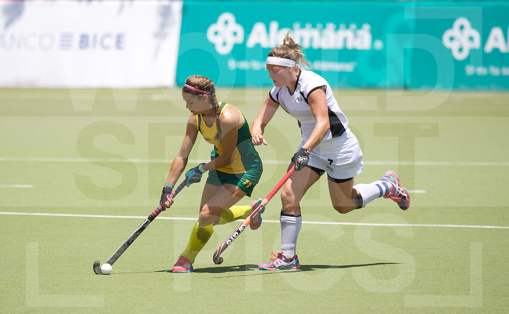 SANTIAGO - 2016 8th Women's Hockey Junior World Cup<br /> NZL v RSA (13 / 14 Place)<br /> foto: <br /> FFU PRESS AGENCY COPYRIGHT FRANK UIJLENBROEK