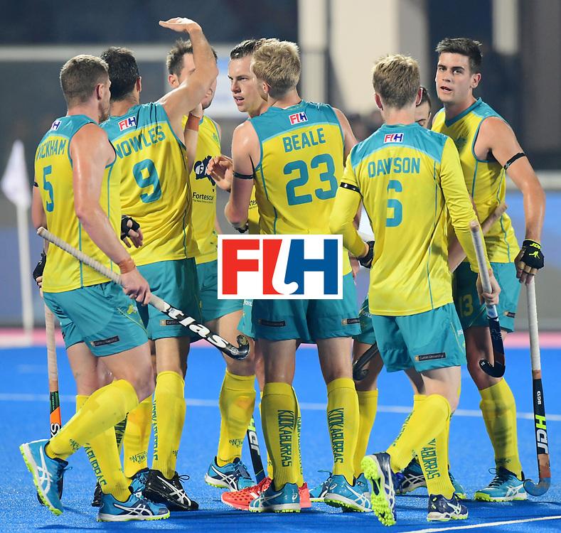 Odisha Men's Hockey World League Final Bhubaneswar 2017<br /> Match id:15<br /> Spain v Australia<br /> Foto: Jeremy Hayward (Aus) <br /> COPYRIGHT WORLDSPORTPICS FRANK UIJLENBROEK