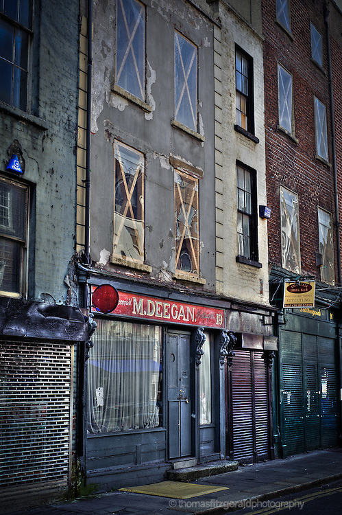 A wonderful old building in Dublin City. It's ruined fascade is full of chraracter and texture.