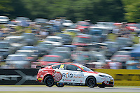 #66 Josh Cook GBR MG Racing RCIB Insurance MG6GT  during the BTCC Oulton Park 4th-5th June 2016 at Oulton Park, Little Budworth, Cheshire, United Kingdom. June 05 2016. World Copyright Peter Taylor/PSP.