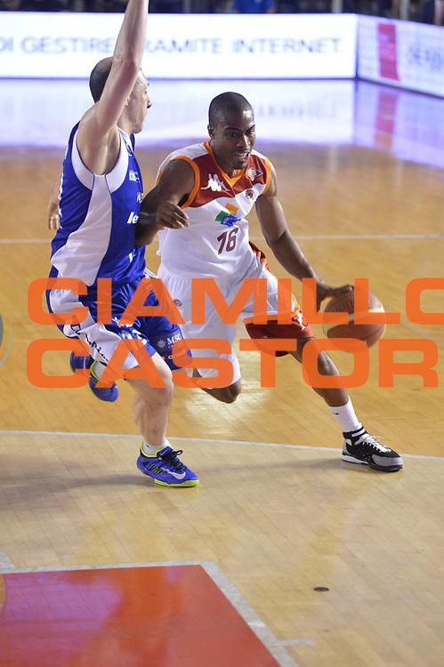 DESCRIZIONE : Roma Lega A 2012-2013 Acea Roma Lenovo Cant&ugrave; playoff semifinale gara 2<br /> GIOCATORE : Bryan Bailey<br /> CATEGORIA : palleggio<br /> SQUADRA : Acea Roma<br /> EVENTO : Campionato Lega A 2012-2013 playoff semifinale gara 2<br /> GARA : Acea Roma Lenovo Cant&ugrave;<br /> DATA : 27/05/2013<br /> SPORT : Pallacanestro <br /> AUTORE : Agenzia Ciamillo-Castoria/GiulioCiamillo<br /> Galleria : Lega Basket A 2012-2013  <br /> Fotonotizia : Roma Lega A 2012-2013 Acea Roma Lenovo Cant&ugrave; playoff semifinale gara 2<br /> Predefinita :