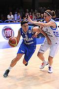LATINA EUROBASKET 2012 ITALIA - GRECIA<br /> NELLA FOTO: ILARIA ZANONI<br /> CIAMILLO
