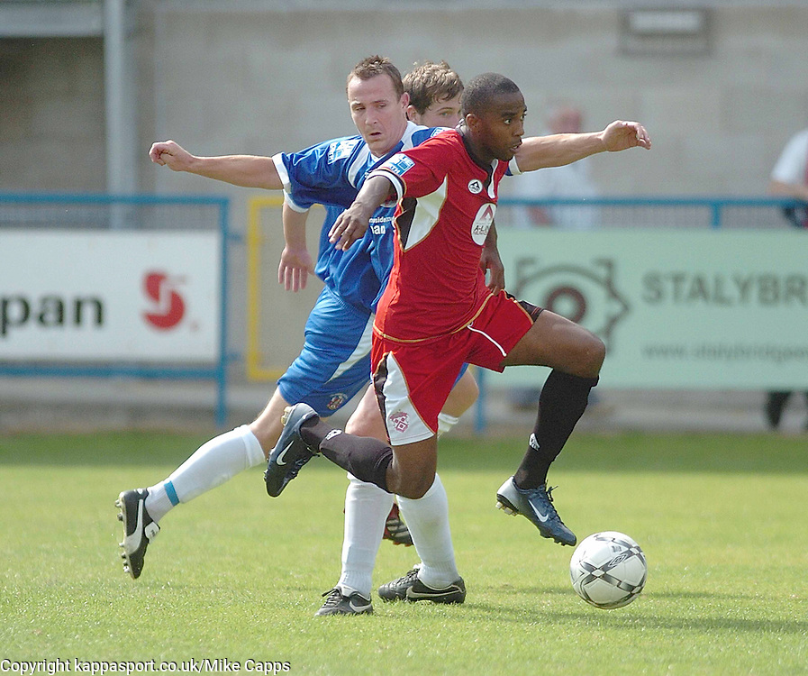 MICHAEL MALCOLM, Kettering Town, Stalybridge Celtic - Kettering Town, Blue Square Conference North 11/8/2007