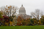 Jefferson City, Missouri MO USA, The Missouri state capitol building