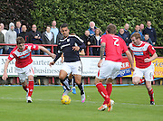 Luka Tankulic is out numbered - Brechin City v Dundee, pre-season friendly at Starks Park<br /> <br />  - &copy; David Young - www.davidyoungphoto.co.uk - email: davidyoungphoto@gmail.com