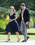 Guests At Pippa Middleton-James Mathews Wedding