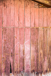 detail of a rustic barn