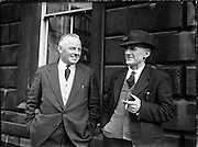 16th Dail Reopens at Leinster House. Mr John Ormonde, Waterford, Deputy to 16th Dail. 20/03/1957