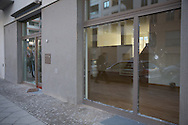 Berlin, Germany - 06.02.2016<br /> <br /> Unknown rioting in a new development quarter in the Flottwellstrasse in Berlin-Tiergarten. Several luxury cars were set on fire and numerous windows on the ground floor of high-priced properties were smashed. The police suspect a political background .<br /> <br /> Unbekannte Randalieren in einem Neubauviertel in der Flottwellstrasse in Berlin-Tiergarten. Mehrere Luxus Autos wurden in Brand gesetzt und zahlreiche Fensterscheiben im Erdgeschoss hochpreisiger Immobilien wurden eingeschlagen. Die Polizei geht von einem politischen Hintergrund aus.<br /> <br /> Photo: Bjoern Kietzmann