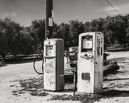 Gas pumps. Edited in Lightroom and Photoshop. Canon EOS T6s DSLR. Canon EF-S 18-55 f/3.5-5.6 IS II lens.