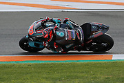 Another 2nd place for #20 Fabio Quatararo, French: Petronas Yamaha SRT during the Gran Premio Motul de la Comunitat Valenciana at Circuito Ricardo Tormo Cheste, Valencia, Spain on 17 November 2019.
