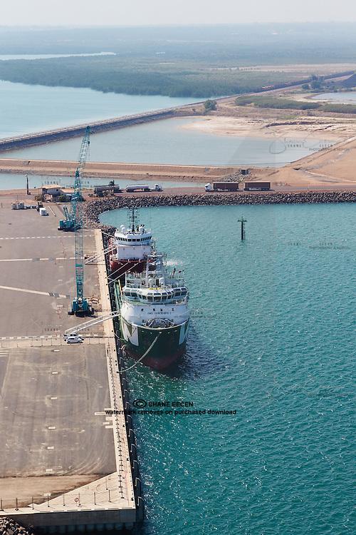 East Arm Wharf. Darwin Port Corporation. 214 May 2015.Photo Shane Eecen