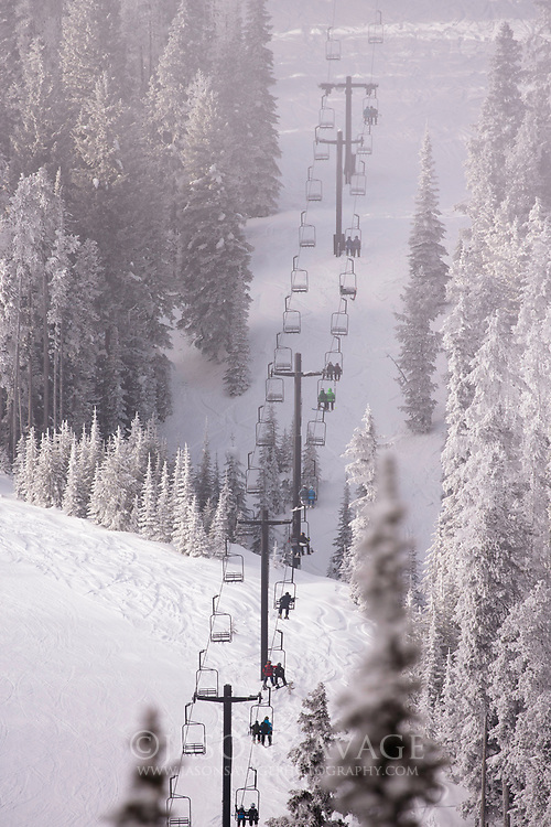 Lost Trail Ski Area, Montana.