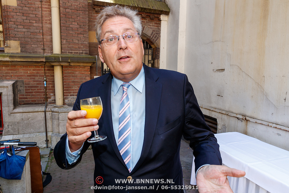 NLD/Den Haag/20180705 - Binnenhof BBQ 2018, Henk Krol