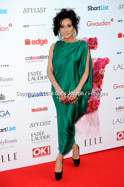 Nancy Dell'Ollio attends the Fifi awards ceremony, The Brewery, London, United Kingdom. Thursday, 15th May 2014. Picture by Chris Joseph / i-Images