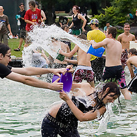 Water Fight Day Budapest 2009