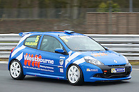 #5 Ben COLBURN Westbourne Motorsport during Michelin Clio Cup Series as part of the BARC NW - Championship Raceday  at Oulton Park, Little Budworth, Cheshire, United Kingdom. March 19 2016. World Copyright Peter Taylor/PSP. Copy of publication required for printed pictures.  Every used picture is fee-liable. http://archive.petertaylor-photographic.co.uk