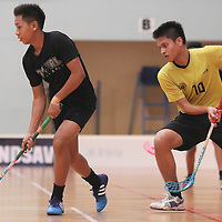 2016 National B Div Floorball Semis: Victoria School vs Coral