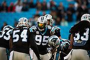 January 3, 2016: Carolina Panthers vs Tampa Bay Buccaneers. Johnson, Charles
