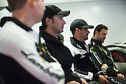 Driver briefing on Saturday morning.