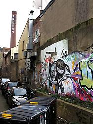 UK ENGLAND LONDON 1MAR14 - Graffiti along Brick Lane in Shoreditch, east London.<br /> <br /> jre/Photo by Jiri Rezac<br /> <br /> &Acirc;&copy; Jiri Rezac 2014