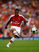 Photo: Richard Lane/Richard Lane Photography. Arsenal v Real Madrid. Emirates Cup. 03/08/2008. Arsenal's Theo Walcott.