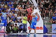 DESCRIZIONE : Campionato 2014/15 Serie A Beko Semifinale Playoff Gara4 Dinamo Banco di Sardegna Sassari - Olimpia EA7 Emporio Armani Milano<br /> GIOCATORE : Joe Ragland<br /> CATEGORIA : Tiro Penetrazione Sottomano Controcampo<br /> SQUADRA : Olimpia EA7 Emporio Armani Milano<br /> EVENTO : LegaBasket Serie A Beko 2014/2015 Playoff<br /> GARA : Dinamo Banco di Sardegna Sassari - Olimpia EA7 Emporio Armani Milano Gara4<br /> DATA : 04/06/2015<br /> SPORT : Pallacanestro <br /> AUTORE : Agenzia Ciamillo-Castoria/L.Canu<br /> Galleria : LegaBasket Serie A Beko 2014/2015