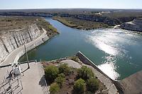 Amistad Dam, near Del Rio, Texas.