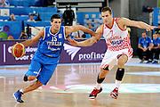 LUBIANA EUROBASKET 2013 14 SETTEMBRE 2013<br /> NAZIONALE ITALIANA MASCHILE<br /> CROAZIA VS ITALIA<br /> NELLA FOTO: ANDREA CINCIARINI<br /> FOTO CIAMILLO