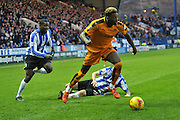 Wolverhampton Wanderers defender Dominic Iorfa  during the Sky Bet Championship match between Sheffield Wednesday and Wolverhampton Wanderers at Hillsborough, Sheffield, England on 20 December 2015. Photo by Ian Lyall.