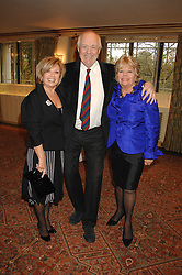 Left to right, ELAINE PAIGE, SIR TIM RICE and JUDITH CHALMERS at a tribute lunch for Elaine Paige hosted by the Lady Taverners at The Dorchester, Park Lane, London on 13th November 2007.<br /><br />NON EXCLUSIVE - WORLD RIGHTS