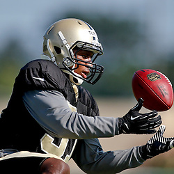 Jul 29, 2013; Metairie, LA, USA; New Orleans Saints cornerback Dion Turner (31) during a morning training camp practice at the team facility.  Mandatory Credit: Derick E. Hingle-USA TODAY Sports