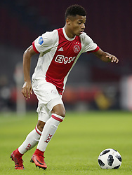 David Neres of Ajax during the international friendly match between Ajax Amsterdam and Borussia Mönchengladbach at the Amsterdam Arena on November 21, 2017 in Amsterdam, The Netherlands