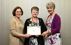 Lincolnshire Co-operative long service awards 2017 held at The Showroom, Lincoln.  Pictured, from left, Lincolnshire Co-operative chief executive Ursula Lidbetter, Jacqueline Beeley (25 years - Birchwood food store) and Lincolnshire Co-operative president Julia Romney.<br /> <br /> Picture: Jane Harrison<br /> Date: September 20, 2017