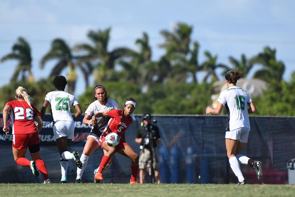 2017 Conference USA Women's Soccer Tournament - Florida Atlantic vs North Texas