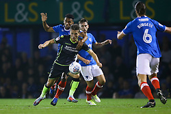Tom Nichols of Bristol Rovers puts Portsmouth defence to the test - Mandatory by-line: Jason Brown/JMP - 26/09/2017 - FOOTBALL - Fratton Park - Portsmouth, England - Portsmouth v Bristol Rovers - Sky Bet League One