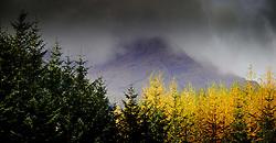 Rain over mountains near Tyndrum, Scotland<br /> <br /> (c) Andrew Wilson | Edinburgh Elite media