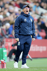 Middlesbrough manager Tony Pulis during the FA Cup, third round match at the Riverside Stadium, Middlesbrough.