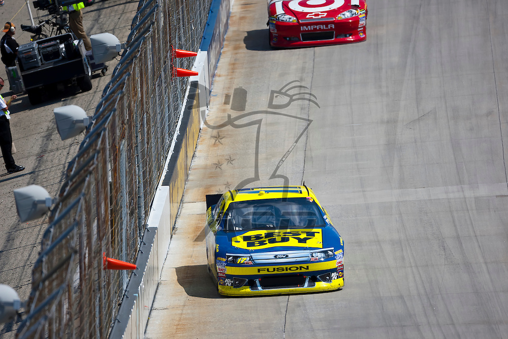 DOVER, DE - JUN 03, 2012:  Matt Kenseth (17) races during the FedEx 400 Benefiting Autism Speaks at the Dover International Speedway in Dover, DE.