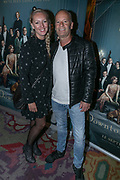 2019, September 10. Pathe Tuschinski, Amsterdam, the Netherlands. Ron Boszhard and Emilie Rozenga at the dutch premiere of Downtown Abbey.