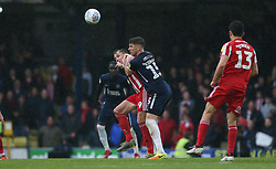 Rob Kiernan of Southend United and Charlie Wyke of Sunderland tussle for the ball - Mandatory by-line: Arron Gent/JMP - 04/05/2019 - FOOTBALL - Roots Hall - Southend-on-Sea, England - Southend United v Sunderland - Sky Bet League One