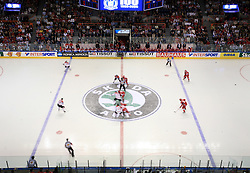 Beginning of  ice-hockey game Canada vs Russia at finals of IIHF WC 2008 in Quebec City,  on May 18, 2008, in Colisee Pepsi, Quebec City, Quebec, Canada. Win of Russia 5:4 and Russians are now World Champions 2008. (Photo by Vid Ponikvar / Sportal Images)