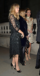 Suki Waterhouse, Poppy Delevingne and Cara Delevingne attend the Downing Street reception hosted by Samantha Cameron during London Fashion Week Spring Summer 2015 in London, UK. 15/09/2014<br />
