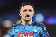 Mario Rui of Napoli reacts during the UEFA Champions League, Group E football match between SSC Napoli and KRC Genk on December 10, 2019 at Stadio San Paolo in Naples, Italy - Photo Federico Proietti / ProSportsImages / DPPI