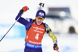 "March 10, 2019 - ƒâ€""Stersund, Sweden - 190310 Dmytro Pidruchnyi of Ukraine celebrates as he win the Men's 12,5 km Pursuit during the IBU World Championships Biathlon on March 10, 2019 in Östersund..Photo: Petter Arvidson / BILDBYRÃ…N / kod PA / 92255 (Credit Image: © Petter Arvidson/Bildbyran via ZUMA Press)"