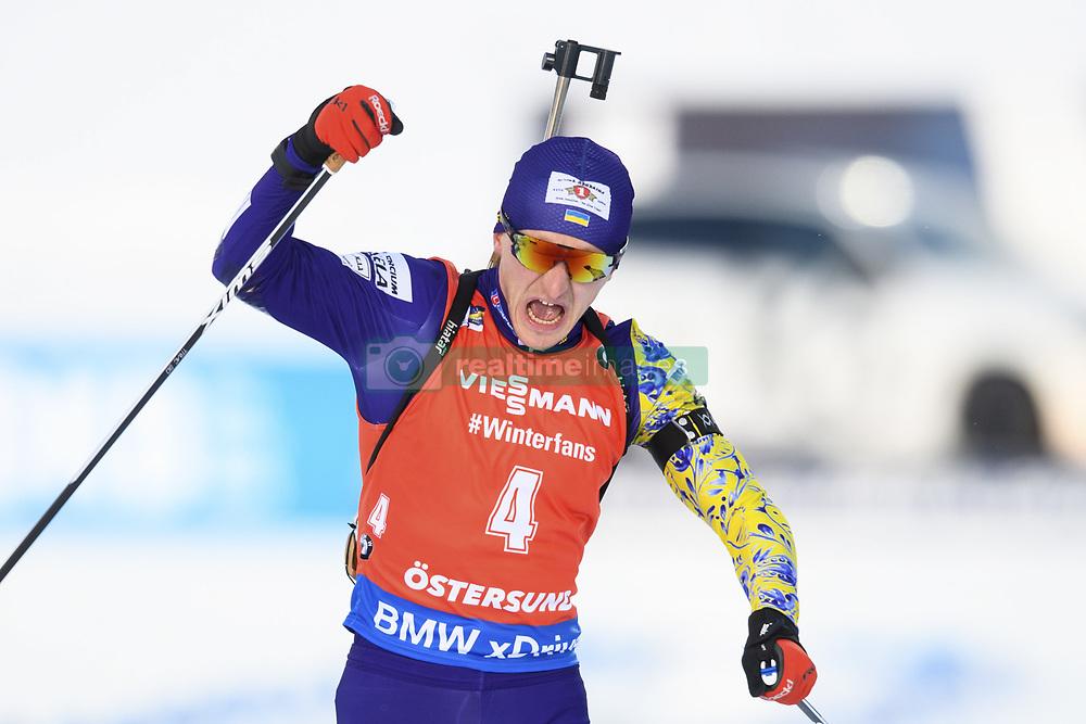 "March 10, 2019 - ƒâ€""Stersund, Sweden - 190310 Dmytro Pidruchnyi of Ukraine celebrates as he win the Men's 12,5 km Pursuit during the IBU World Championships Biathlon on March 10, 2019 in Östersund..Photo: Petter Arvidson / BILDBYRÃ…N / kod PA / 92255 (Credit Image: © Petter Arvidson/Bildbyran via ZUMA Press)"