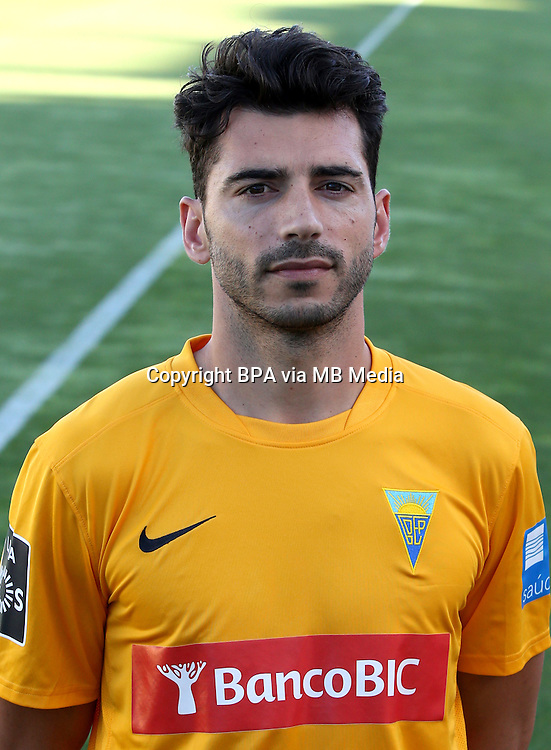Portugal - Primera Liga NOS 2015-2016 /  <br /> ( GD Estoril Praia ) - <br /> Bruno Miguel Moreira de Sousa &quot; Bruno Miguel &quot;
