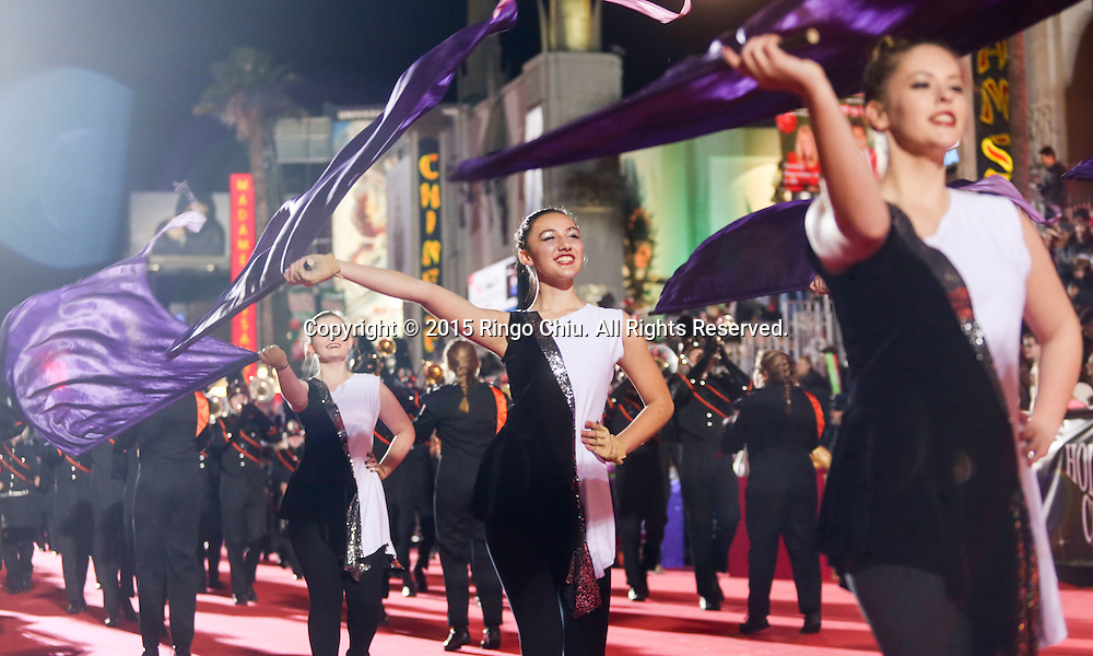 The 84th Annual Hollywood Christmas Parade in Los Angeles, California on Sunday December 29, 2015. (Photo by Ringo Chiu/PHOTOFORMULA.com)<br /> <br /> Usage Notes: This content is intended for editorial use only. For other uses, additional clearances may be required.