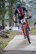 Keegan Swenson (USA) during the Team Relay  at the 2018 UCI MTB World Championships - Lenzerheide, Switzerland
